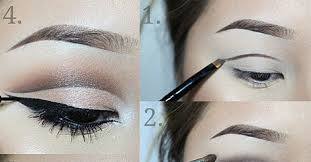cut crease makeup for hooded eyes