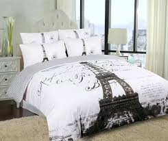 Black And White Paris Bedding Product Details Colors May Vary From That  Shown Above Set . Black And White Paris ...