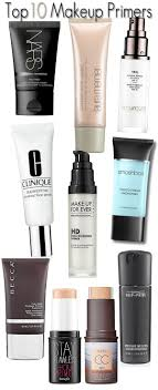 top 10 makeup primers the best makeup primers to ensure makeup goes on smooth and