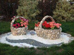 rock stone garden decor 25