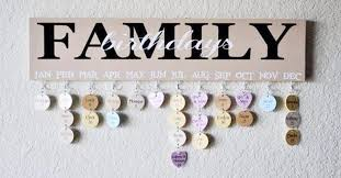 family birthdays or celebrations wall hanging plaque step by step diy or where to