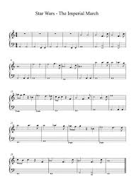Use this sheet for your own personal use completely free. Star Wars The Imperial March Darth Vaders Theme For Easy Solo Piano Sheet Music Pdf Download Sheetmusicdbs Com