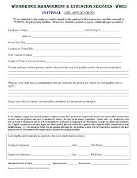 Internal Resume Template 48 Images Cover Letter For Cv