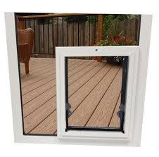 in glass pet door larger photo