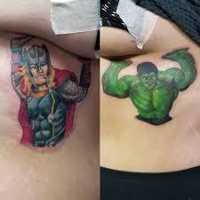 Stay Tru Tattoo By Robert Klein Team Marvel Holding Up فيسبوك