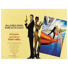 James Bond Quotes 94 Awesome Original Vintage 24 James Bond Movie Poster A View To A Kill