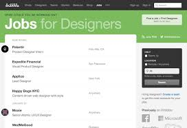 best sites to awesome design jobs and gigs creative market blog dribbble jobs