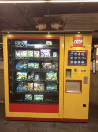 Lego Vending Machine Classy Lego Vending Machine In Germany 48GAG