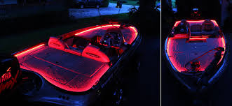 wfls x300 customer s led accent lights on boat deck
