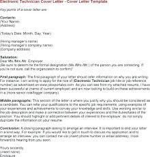 Sample Resume For Electronics Technician Electronic Technician Cover Letter Test Technician Electronic