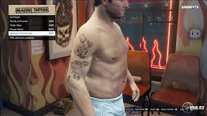 Tattoo Michael Gta V Grand Theft Auto 5 On Gtacz
