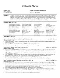 Resume How To Write Technical Skills In For Freshers Profile