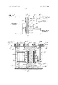 patent us3886434 flyback transformer google patents patent drawing