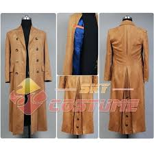 brown trench coat mens original doctor who brown men long trench coat suit party cosplay costume light brown trench coat mens