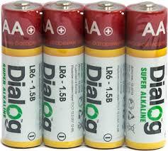<b>Батарейка Dialog AA</b> Lr6-4s - щелочные (1шт) — купить в ...
