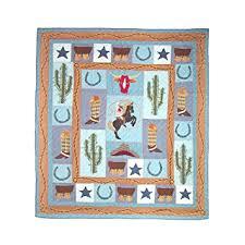 Amazon.com: Patch Magic King Cowboy Quilt, 105-Inch by 95-Inch ... & Patch Magic King Cowboy Quilt, 105-Inch by 95-Inch Adamdwight.com