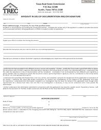 trec form aff a fillable pdf