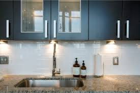 Porcelain Tile Kitchen Backsplash Endearing Modern Kitchen Tile Backsplash With White Rectangular