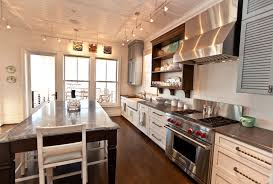 track lighting for kitchen ceiling. Kitchen Ceiling Lighting Ideas Beach Style With Track Stainless St For