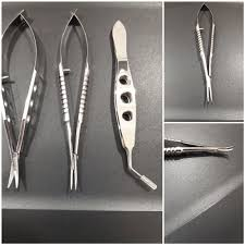 mcpherson tying forcep with 6mm tying platform ophthalmic instrument