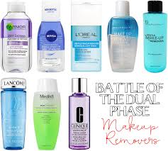 battle of the dual phase makeup removers