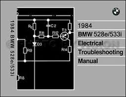 1984 bmw 528e 533i electrical troubleshooting manual wiring image is loading 1984 bmw 528e 533i electrical troubleshooting manual wiring