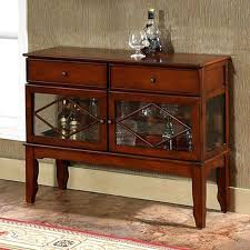 buffet cabinet with glass doors details about buffet cabinet sideboard storage table rustic wood furniture glass buffet cabinet