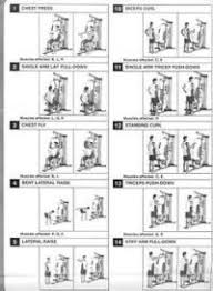 Easy Shaper Exercise Chart Easy Shaper Exercise Chart Flexi
