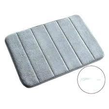 memory foam bathroom mat memory foam bathroom rugs gray x anti slip bath mat soft carpet memory foam bathroom mat