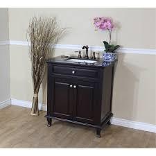 60 Inch Single Sink Vanity Cabinet Bellaterra Home 603215 32dm Bg Single Sink Bathroom Vanity Black
