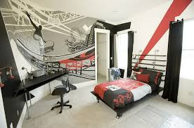graffiti bedroom walls. hand painted graffiti-style wall mural for the bedroom [kimberly fox designs / graffiti walls y