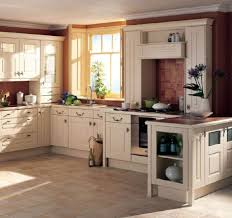 Cream Floor Tiles For Kitchen Unusual Backsplash Tile And Black Countertop Idea Feat Beautiful