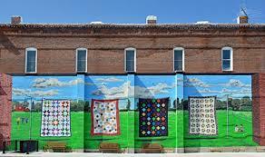 I'm at Missouri Star Quilt Company headquarters! - Crafty Gemini & missouri star quilt co mural Adamdwight.com