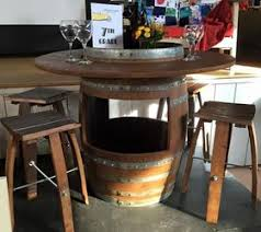 wine barrel outdoor furniture. From Wine Barrels To Unique Patio Set Outdoor Furniture Painted With Barrel R