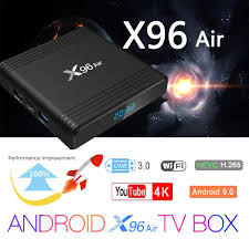 X96 Air Android TV Box Android 9.0 Amlogic S905X3 Smart TV Box 4K Android  Box 4GB 64GB X96Air Quad Core 2.4G&5G Wifi BT4.1 H.265 - buy at the price  of $27.68 in