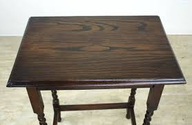 sidetables antique oak side table barley twist at in excellent condition for port tables