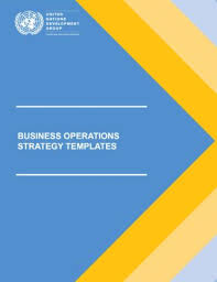 Bos Chart Template Business Operations Strategy Templates Unsdg