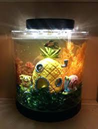 desk fish tank office fish aquarium tank gallon desk table top decor decorations mini kids office desk fish tank office