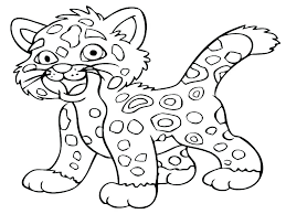 Printable Coloring Pages For Animals Farm Animal Color Toddlers Cute