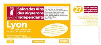 du 26 au 30 octobre 2017 salon des vins des vignerons indépendants