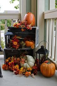 Outdoor Decorating For Fall Best 25 Outside Fall Decorations Ideas Only On Pinterest Autumn