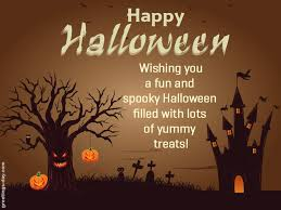 wishing you a great halloween saying