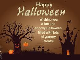 funny happy halloween wish quote