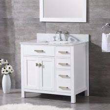 36 bathroom vanity. ALL WOOD High-End White, Grey Or Espresso Shaker 36-inch Bathroom Vanity 36 \