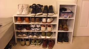 Cool Shoe Rack Ideas Amazing White Woodens Helves Simply