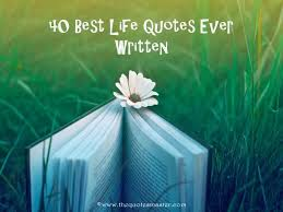 Best Quote Ever Custom 48 Best Life Quotes Ever Written