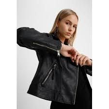 leather jackets dorothy perkins petite biker faux leather jacket black gddbd8652812479