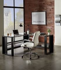 realspace modern comfort series winsley bonded leather mid back chair white 4