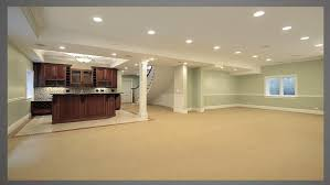 Well, let's talk, affordable finished basement ideas, including painting basement concrete walls, painting the ceiling joists, and acid staining the basement floor is something you can have. Basement Paint Color Ideas For Dark Brown Wooden Kitchen Cabinet Bedroom Colour Schemes