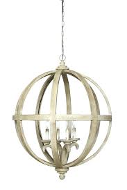 creative co op wood chandelier creative co op chandelier 1 4 x wood metal sphere chandelier